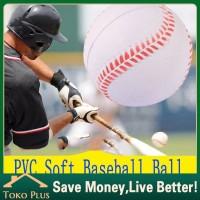 9 Inci Bola Baseball/Softball/bola kasti untuk Latihan mainan anak - 1PC