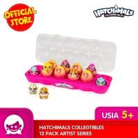 Mainan HATCHIMALS Colleggtibles 12 pack Artist Series