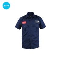 WORKER BLUE-Kemeja / Baju Kerja Lapangan Nyaman Dipakai by ENGINEER