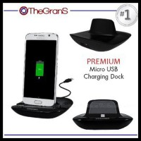 Jual Charging Dock Micro Usb 2.0 Premium Charger Stand Holder Hp