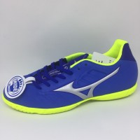 Kicosport Sepatu futsal mizuno Rebula V3 in strong blue original new