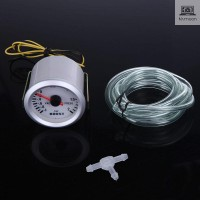 LED Light Turbo Boost Vacuum Press Gauge Meter for Auto Car 2 52mm