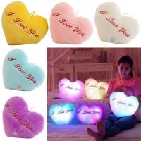 tumblr 35cm*32cm Star Love Led Light Pillow With Colorful Light