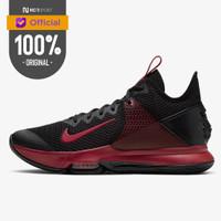Sepatu Basket Nike Lebron Witness 4 Black Crimson Original BV7427-006