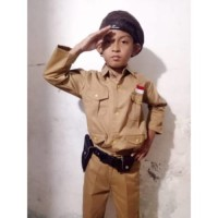 Baju Karnaval putra profesipejuang(Topi Baret)anak TK-SD Berkualitas