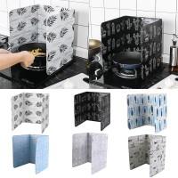 Dapur Partisi Lipat Bahan Aluminium Foil Anti Ciprat Minyak Panas