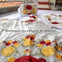 Mukena Sutra Bordir Premium Ekslusif, Mukenah Dewasa, Kado