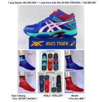 Paling Terpopuler Sepatu Asics Tiger Volley Volly Voli Proh Ace Mid