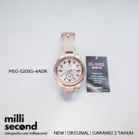 CASIO BABY-G G-MS MSG-S200G-4ADR/MSGS200G-4A ORIGINAL & GARANSI RESMI