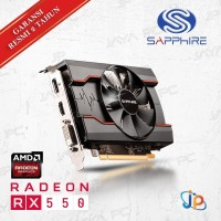 VGA Sapphire Pulse Radeon RX 550 2GB - RX 550 2 GB DDR5 Murah