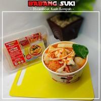 Promo Babang Suki Premium Tomyam/Steamboat Kuah Rempah Terbaru
