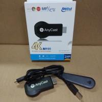 Anycast M100 4K HD Wifi Display TV Dongle Wireless HDMI Dongle Anycas
