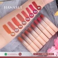 (BPOM) HANASUI Mattedorable Lip Cream 4gr