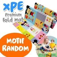 Playmat Baby Mickey Pooh   Matras Lipat XPE untuk Bayi   Motif Random