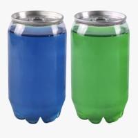Plastic PET Can 350ml Kaleng Cantik Segel Aluminium Minuman Cafe