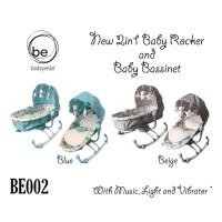 Bouncer Baby Elle Dreamy BE002 2in1 Rocker and Bassinet / Ayunan Bayi