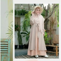 Fashion Muslim Terbaru Gamis Dress Mufida