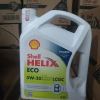 Oli Shell Helix ECO LCGC Galon 3,5lt Sae 5w-30 ASLI