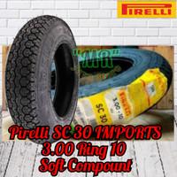 Ban Pirelli SC30 3.00 Ring 10 For Vespa Smalframe , PTS
