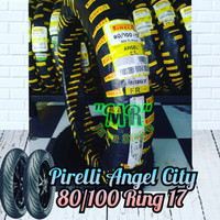 Ban Pirelli Angel City uk 80/100 Ring 17 For RX king Old Vixion GL PRO
