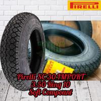 Ban Pirelli SC30 IMPORT 3.50 Ring 10 For Vespa PX , Exel
