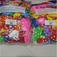 Balon Polkadot Warna Mix