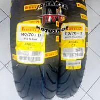 PAKET Ban Tubless Angel City 110 70 - 140 70 Ring 17 For Motor Sport