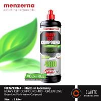 Menzerna Heavy Cut Compound 400 GREEN LINE - 1 Liter - VOC Free