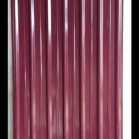 Spandeck/spandek warna merah carita 0,3mm x 5 m atap galvalum kanopi