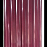 Spandeck/spandek warna merah carita 0,3mm X 6 mtr atap galvalum kanopi