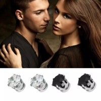 Anting Magnet Berlian Imitasi Tanpa Tindik Pria Wanita