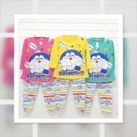 Baju Tidur Piyama Setelan Anak Karakter DORAEMON 3 (3-4 tahun)