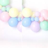 Balonasia Balon Mini Pastel 5In (10pcs)