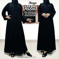 abaya gamis hitam polos