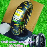 Ban Pirelli Diablo Rosso Sports 120/70 Ring 17 For Ninja CBR R25 MT25