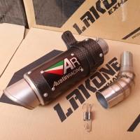 KNALPOT AUSTIN RACING SLIP ON MID PIPE NINJA 250 FI 250R Z250 RR MONO