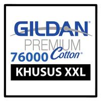 Kaos Polos Gildan PREMIUM COTTON 76000 Khusus XXL