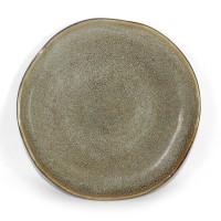 Artisan Ceramic | Reactive Grey Lagoon Side Plate D: 20 cm