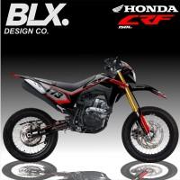Decal sticker Full body Motor Honda CRF 150 L Strip simple 173