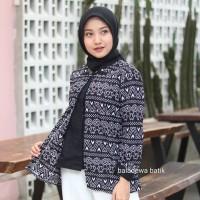 Baju batik wanita blouse bolero modern best seller