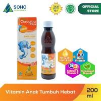Curcuma Plus Grow Emulsion Syrup - Orange 200ml