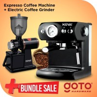 Bundling Kova Espresso Maker dan Electric Coffee Grinder
