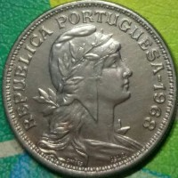 Uang koin Kuno Manca PORTUGAL 5 Avos 1986 Tp 1386