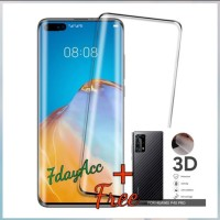 tempered glass full cover Huawei p40 pro screen protector