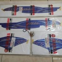 striping mio sporty biru bunga kembang batik original yamaha