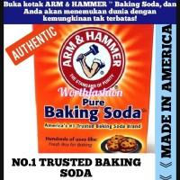 IMPORT BAKING SODA ARM & HAMMER TRUSTED BRAND 454 GR
