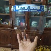 face Shield bahan polycarbonate shett standar medis