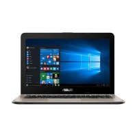 LAPTOP ASUS X441BA-GA611T- A6-9225/4GB/1TB HDD/AMD R4/WIN 10/BROWN