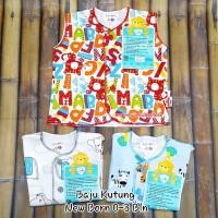 Libby Baju Kutung New Born Pakaian Bayi Baru Lahir 0-3 Bln