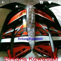 fairing atas orange Special edition 2014 ninja rr new original..